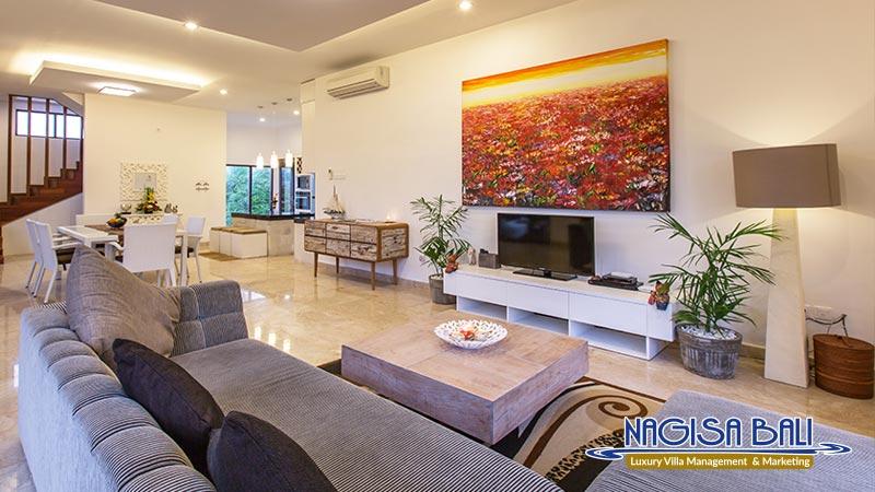 villa club corner living room by nagisa bali