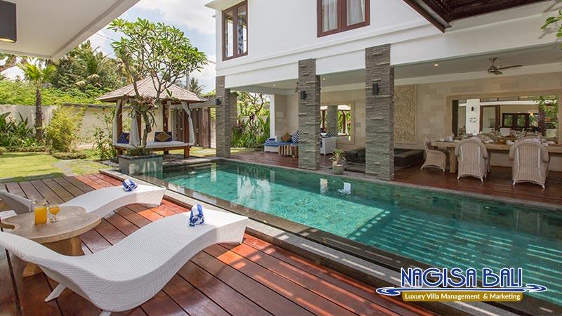 villa club corner canggu pool by nagisa bali
