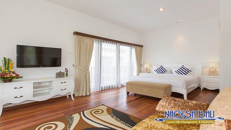 villa club corner canggu nice bedroom with sofa by nagisa bali