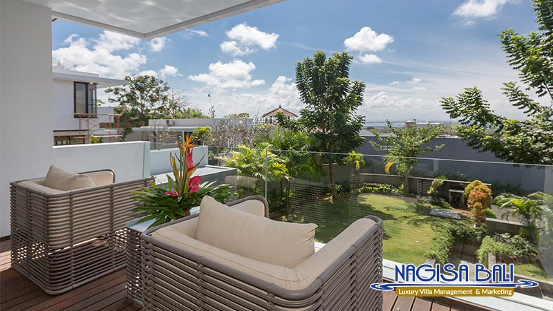 nagisa bali bay view villas beautiful balcony