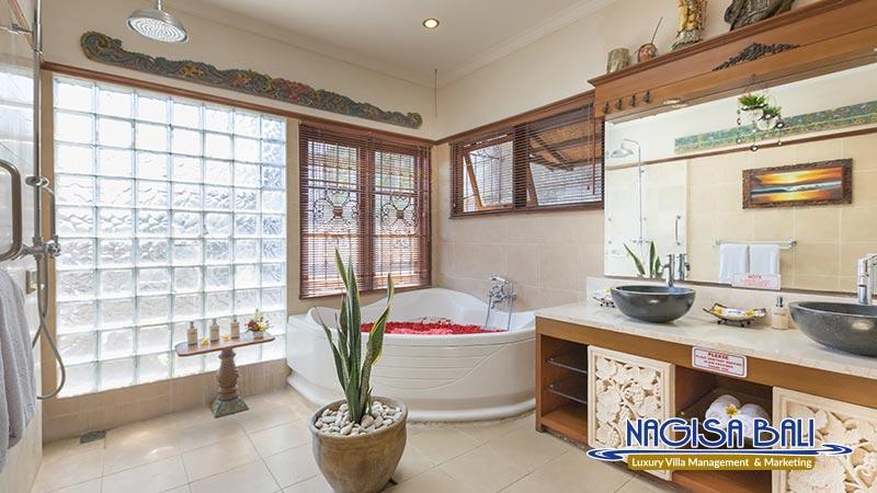 villa kaja animal friendly bathroom by nagisa bali