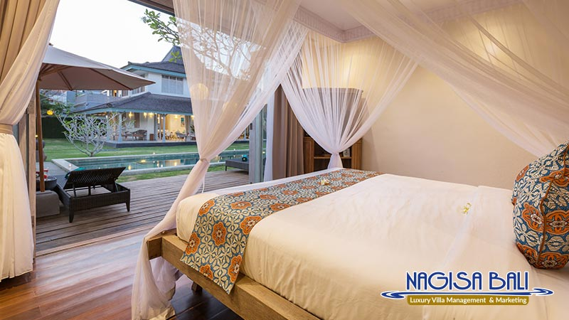 villa hasian jimbaran bedroom to pool deck by nagisa bali