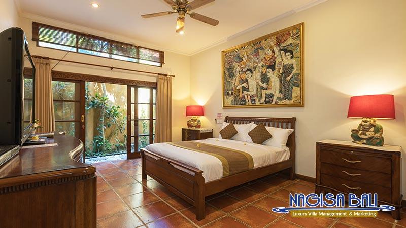 villa kaja animal friendly beautiful bedroom by nagisa bali