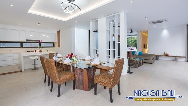 villa damar canggu dining room by nagisa bali