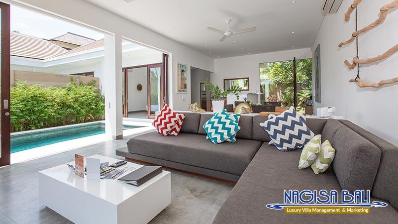 gajah villas bali cozy living room by nagisa bali