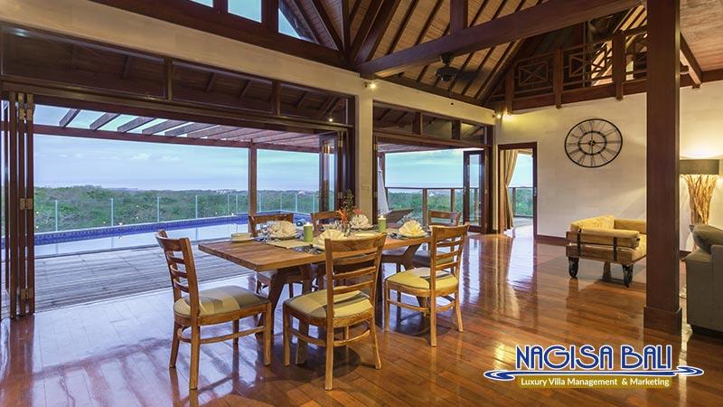 khaya luxury villa nusa dua dining room by nagisa bali