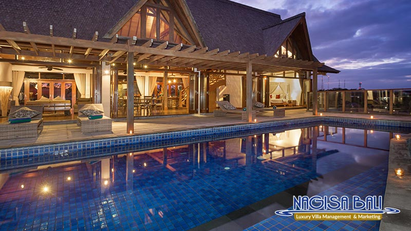 khaya luxury villa nusa dua night view by nagisa bali
