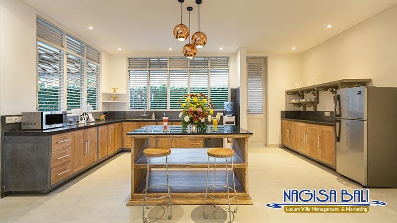 villa hasian jimbaran kitchen by nagisa bali