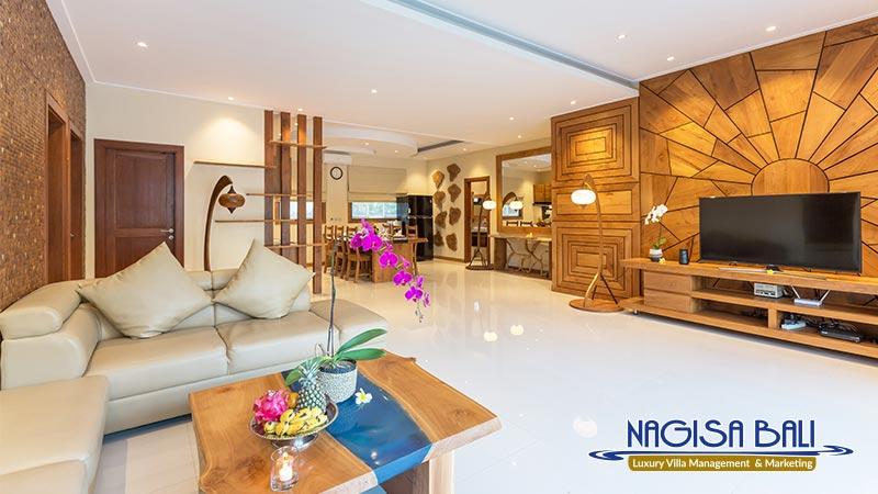 cc villa seminyak family living room nagisa bali
