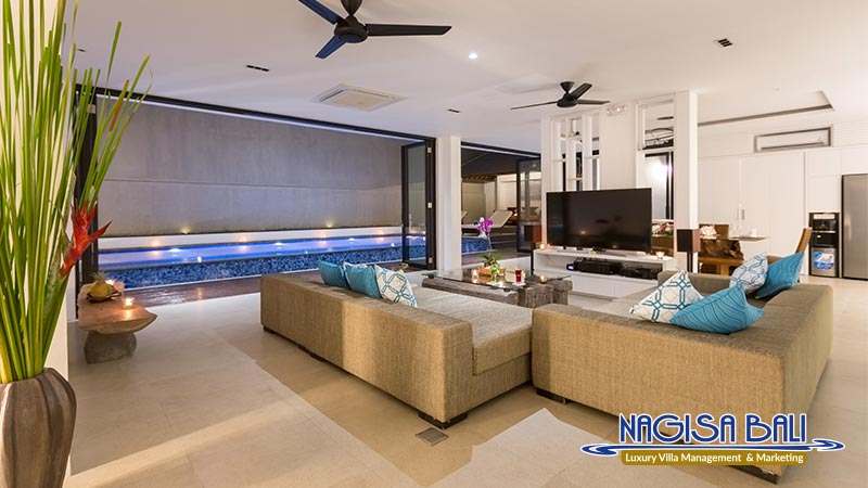 villa damar canggu living room by nagisa bali