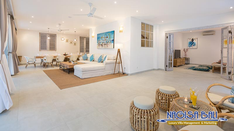 villa hasian jimbaran living room by nagisa bali