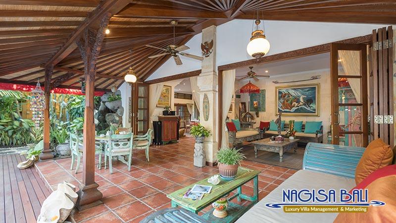 villa kaja animal friendly living room by nagisa bali