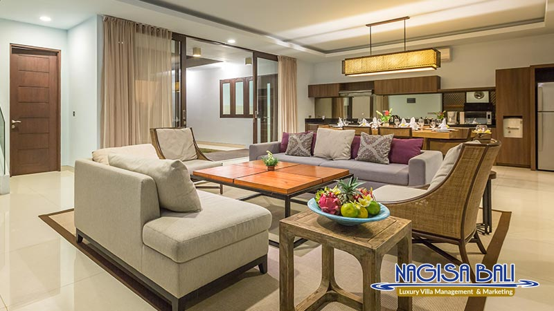 nagisa bali bay view villas living room