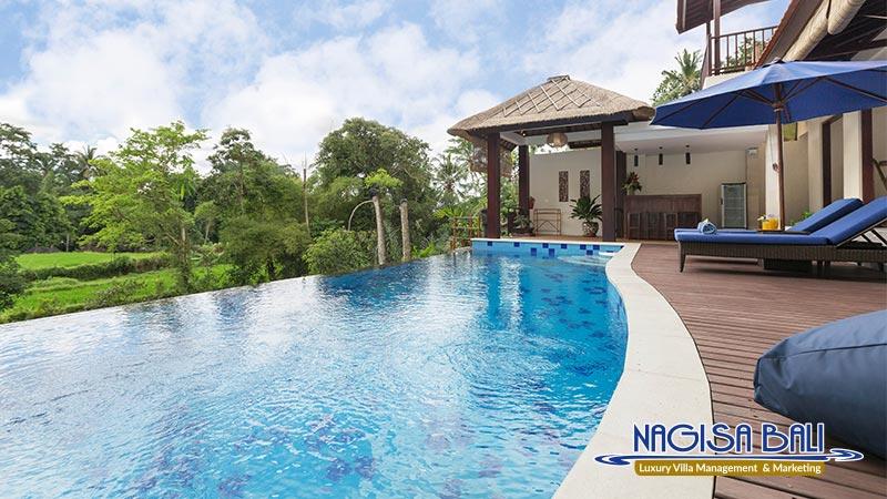 villa atap padi amazing pool enjoy the scenery by nagisa bali
