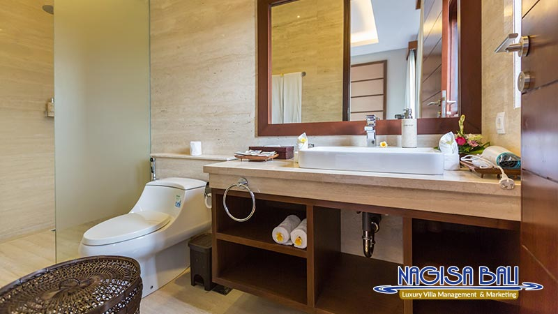 entrada villa seminyak bathroom by nagisa bali