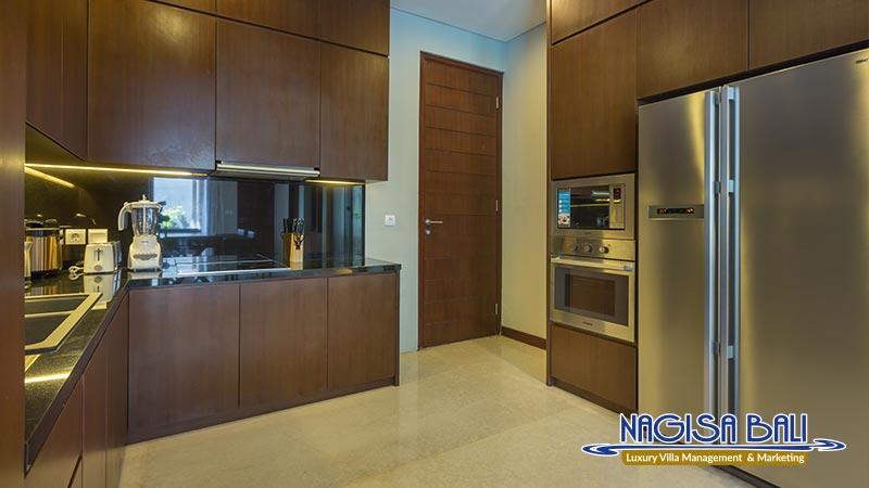 entrada villa seminyak kitchen by nagisa bali