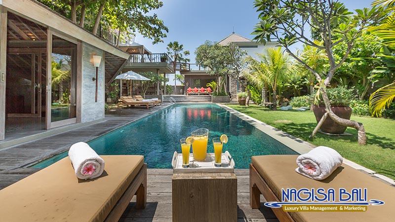 jadine bali villa nice pool and garden by nagisa bali