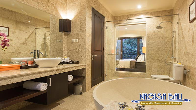 the reika villas bathroom by nagisa bali