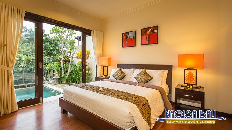 the reika villas master bedroom by nagisa bali