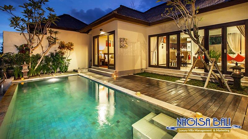 the reika villas amazing night view by nagisa bali