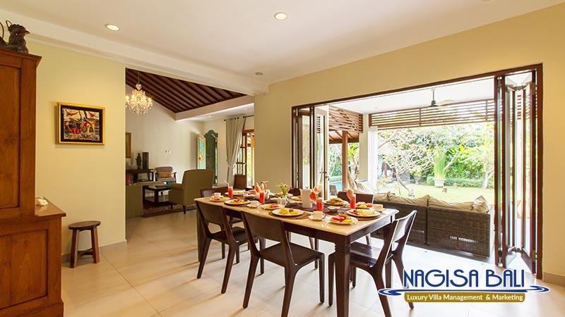 villa balidamai dining room by nagisa bali