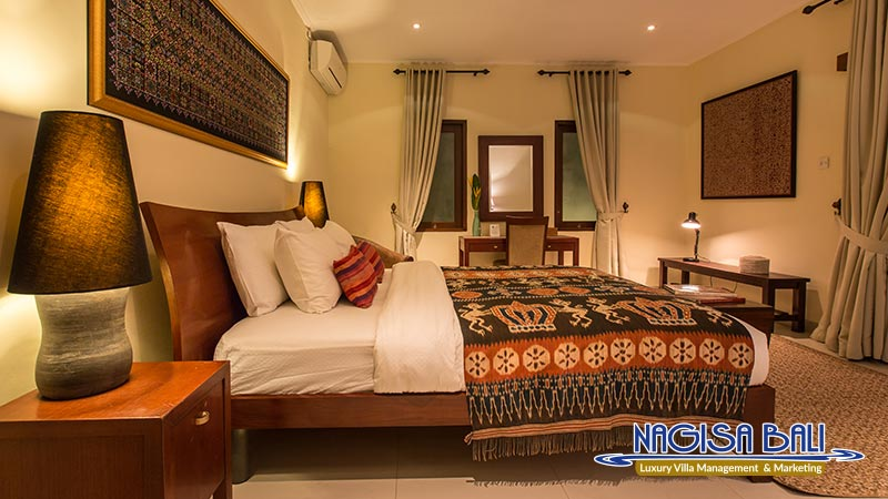 villa balidamai double bedroom night view by nagisa bali