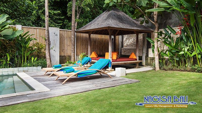 villa liang poolside and bale by nagisa bali