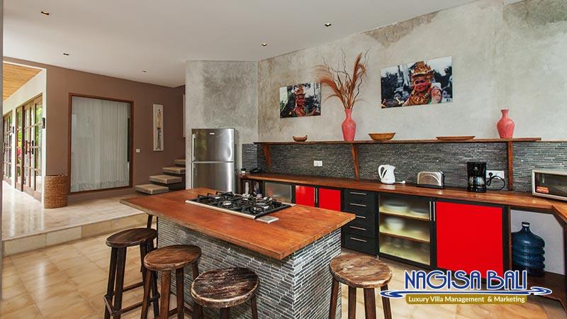 villa liang kitchen by nagisa bali