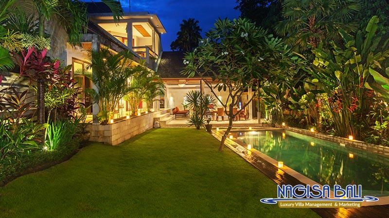 villa liang beautiful night view by nagisa bali