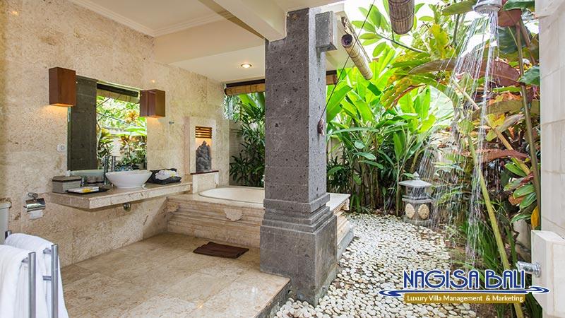 villa lidwina outdoor shower by nagisa bali