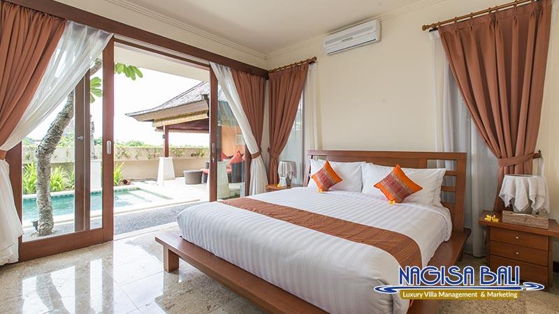 villa lidwina beautiful setup on bedroom by nagisa bali