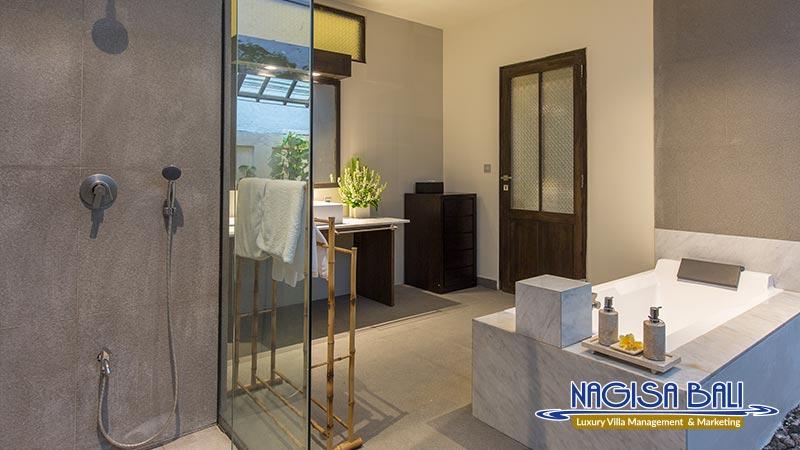 villa roku seminyak elegant bathroom by nagisa bali