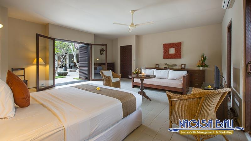 villa roku seminyak poolside bedroom by nagisa bali