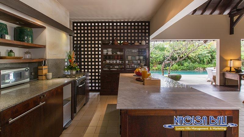 villa roku seminyak full kitchen equipment by nagisa bali