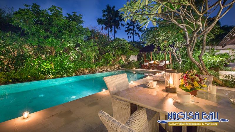 villa roku seminyak beautiful night view by nagisa bali