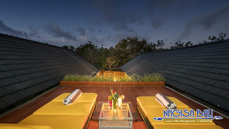 villa ciwuwi beautiful rooftop view by nagisa bali
