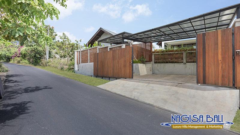 villa ciwuwi balangan entrance by nagisa bali