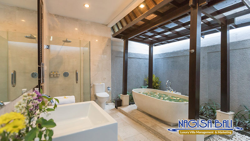 villa litera seminyak amazing bathroom by nagisa bali