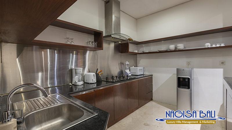 villa litera seminyak kitchen by nagisa bali