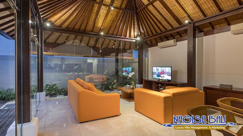 villa litera seminyak living room by nagisa bali