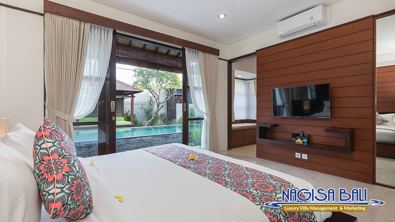villa litera seminyak king size bed bedroom by nagisa bali