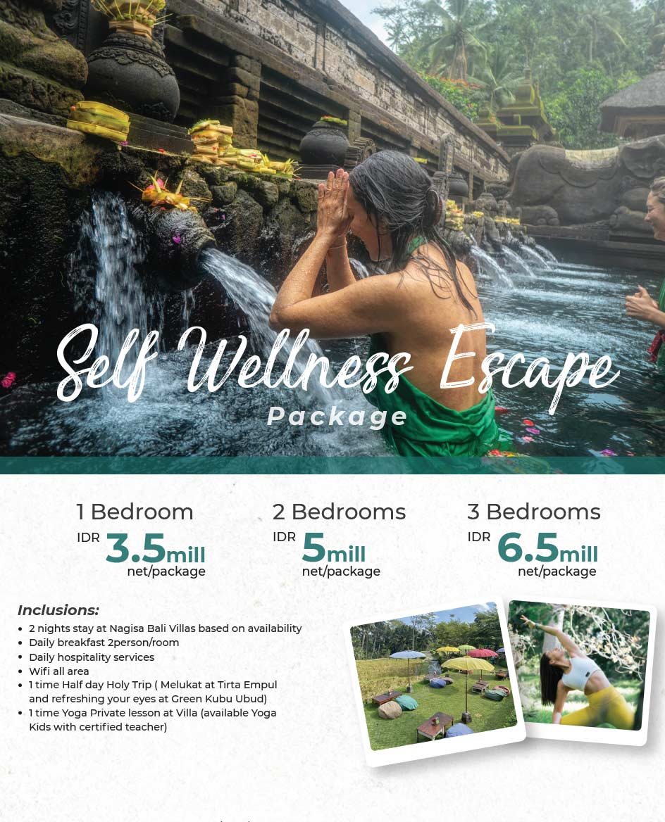 Self Wellness Escape Package