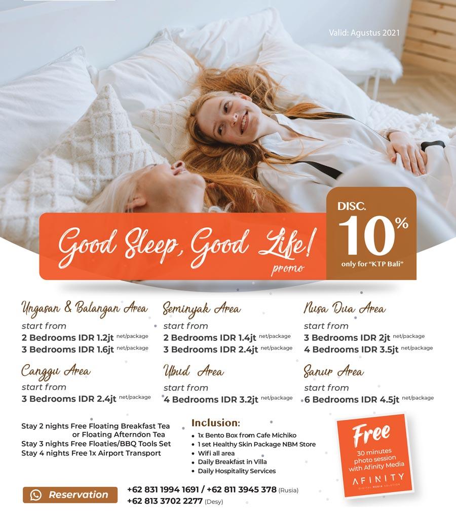 staycation villa promotion